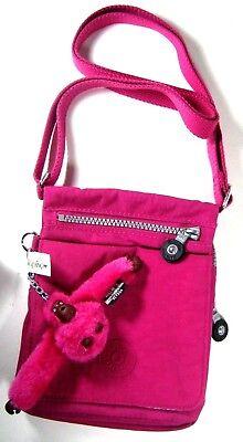 Kipling El Dorado Crossbody Bag Color Very Berry