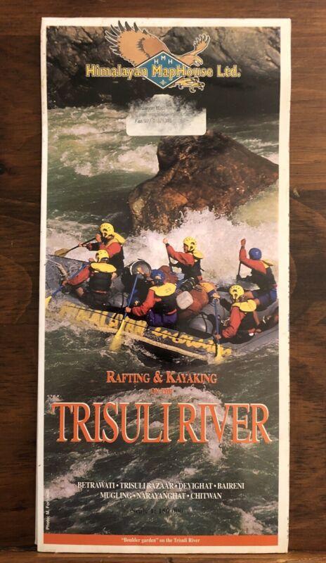 Rafting & Kayaking On The Trisuli River Travel Map Nepal Himalayas