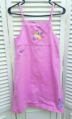 Girl's Disney Princess Dress size 10/12 Pink Spaghetti Strap Sundress (Disney Princess Sundress)