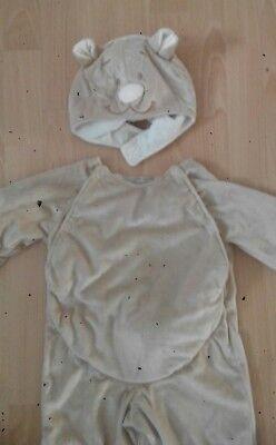 Top Noukie's Teddy Bär Kostüm 18 bis 24 M Faschings kostüm Plüsch Overall - Teddy Bär Kind Plüsch Kostüm