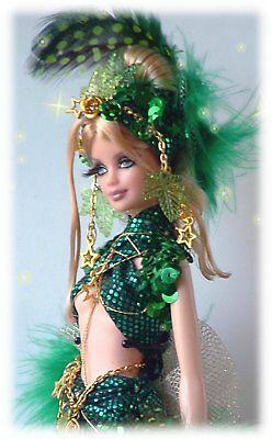 Designer mermaid custom ooak doll By Dollocity