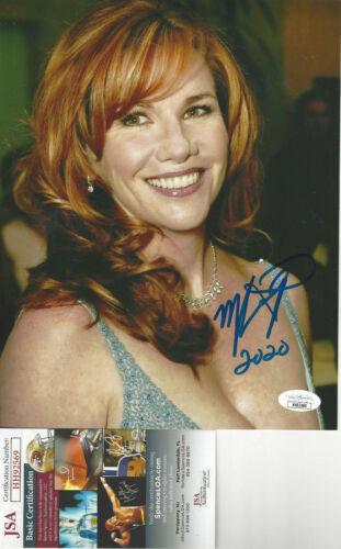 Melissa Gilbert Little House Prairie Autographed 8x10 pretty Photo JSA CERT