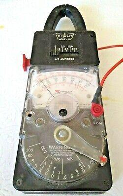 Triplet Model 310-tel 18 Range Hand-sized Voltmeter