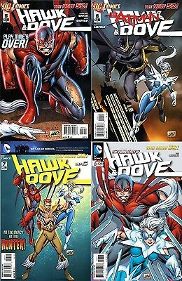 HAWK & DOVE 5 6 7 & 8 1st PRINT VFNM or better 2011 5th DC SERIES NEW