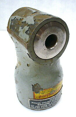 Bridgeport No. 1 Right Angle Attachment For M Head Accepts B-2 Collet