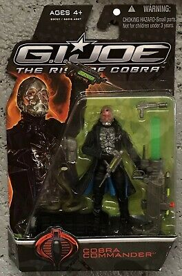 "GI Joe ROC Rise Of Cobra Commander Snake 3.75"" Figure Movie Series V43 New (Gi Joe Rise Of Cobra Cobra Commander)"