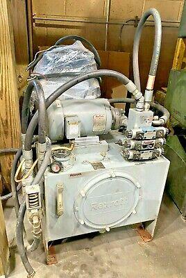 Used Bosch Rexroth 20 Gal Hydraulic Power Pump System Unit Reservoir S.n.295