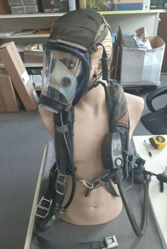 Survivair Panther SCBA Harness, Regulator, Sensors, Frame and Mask