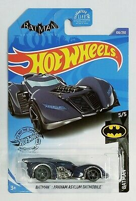 Hot Wheels 2020 Batman Arkham Asylum Batmobile Treasure Hunt Batman 5/5 #106/250