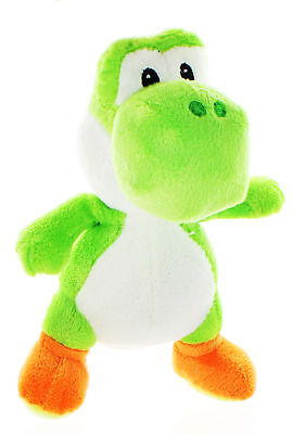 "NWT 8"" Nintendo Super Mario Bros Yoshi Plush Toy Stuffed Licensed - Green"