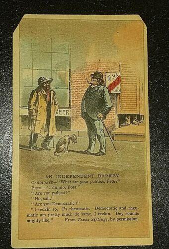 Victorian Arbuckles Aroisa Coffee Trade Card.