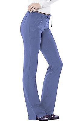 Ciel Blue HeartSoul Scrubs Heart Breaker Low Rise Drawstring Pants 20110 CILH ()