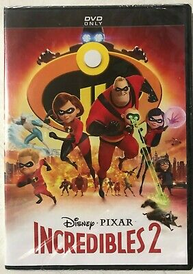 INCREDIBLES 2 [2018, DVD] New Sealed 📀🆕