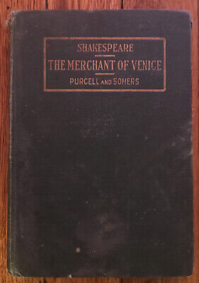The Merchant Of Venice Purcell And Somers Shakespeare Book