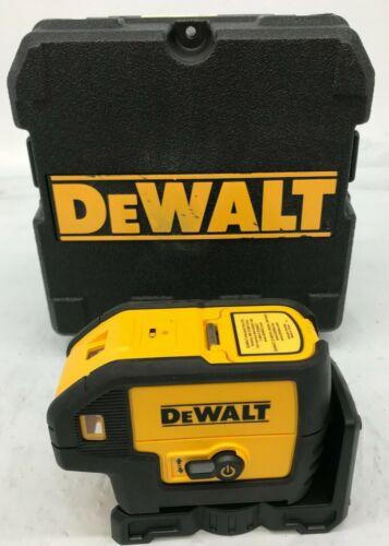 Dewalt DW085 DW-086 5 Beam Laser Pointer Case Battery Operated, LN