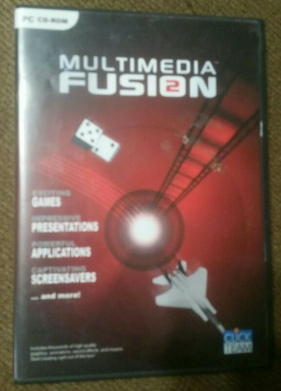 Multimedia FUSION 2 by Clickteam Video Game Authoring Tool /Development Software