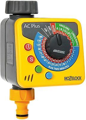 Hozelock Automatic Water Computer Timer Plus Yellow and Grey