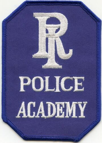 RHODE ISLAND RI STATE POLICE ACADEMY POLICE PATCH