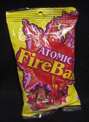 ATOMIC FIREBALLS Ferrara Pan Individually Wrapped Candy Bags- FRESH- {1 BAG}](Ferrara Pan Candy)
