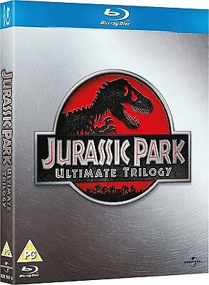 JURASSIC PARK The Ultimate Trilogy PAL UL - Abierto como nuevo BLU-RAY DISC