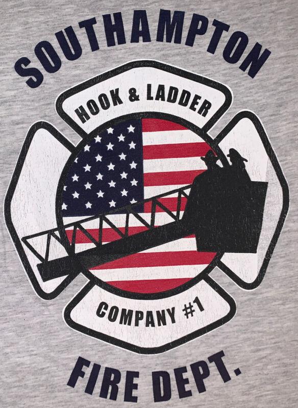 Southampton Fire Department Suffolk County Long Island NY T-Shirt Sz XL FDNY