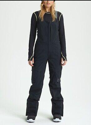 Brand New 2021 Burton AK Kimmy 2L Gore-Tex Snowboard Ski Bib Pants Medium