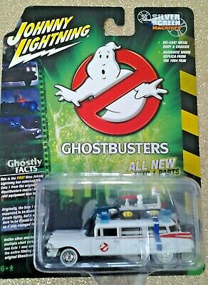 JOHNNY LIGHTNING - GHOSTBUSTER'S - ECTO 1  1/64 DIE CAST SPECIAL EDITION -*NEW