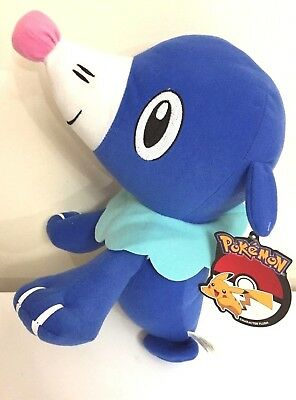 "Pokemon Rare Plush Large 11"" Popplio. Official Licensed Stuffed Animal Toy.New"