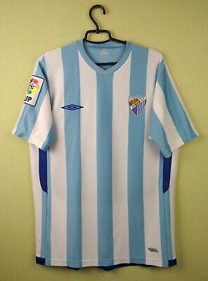 fc Malaga jersey Large shirt 2009/2010 Home men's umbro soccer football 5/5 image
