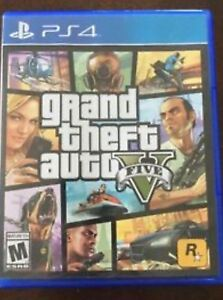 GTA V - GRAND THEFT AUTO 5 - PS4 GAME