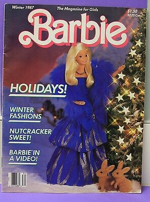 Barbie Magazine Winter 1987 Vol 4 #1 Holidays