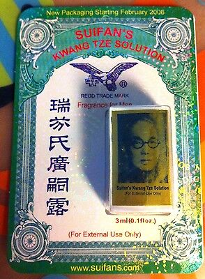 1 Carded China Brush Suifans Kwang Tze Solution Original        Exp 2019