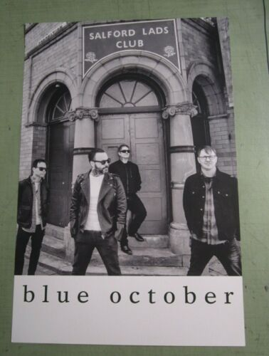 Blue October 2018 Promo Poster - i hope your happy
