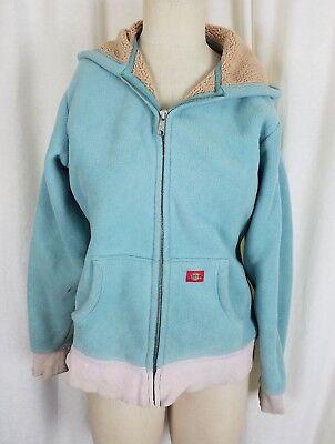 Berber Lined Fleece Jacket (Dickies Work Hooded Berber Fleece Lined Sweatshirt Jacket Hoodie Womens S Blue )