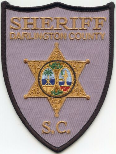 new style DARLINGTON COUNTY SOUTH CAROLINA SC SHERIFF POLICE PATCH