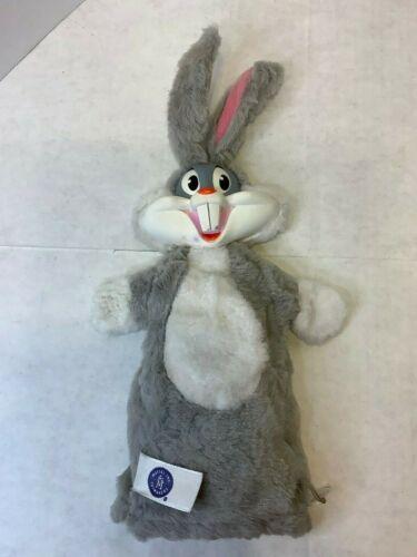 Vintage Mattel Bugs Bunny Pull String Plush Stuffed Hand Puppet 1962