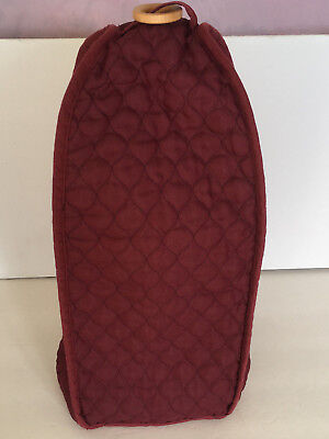 small kitchen appliance blender cover quilted style fabric wood handle
