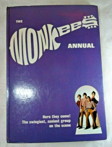 The Monkees 1967 Hardback Annual