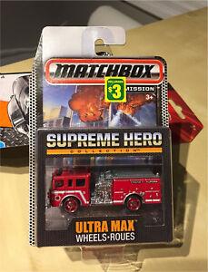 Matchbox - Supreme Hero - Pierce Dash - $3