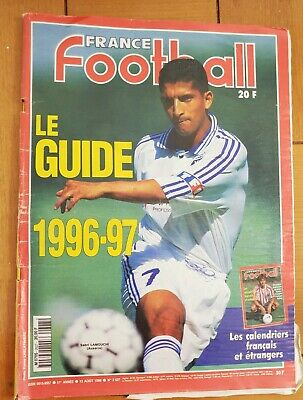 Shirt France Football 2627 13/08/96 1996 1997 Aj Auxerre Lamouchi The Guide image