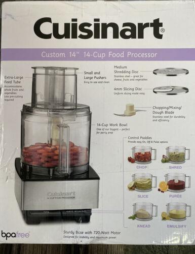 Cuisinart DFP14BCNY Food Processor, 14 Cup