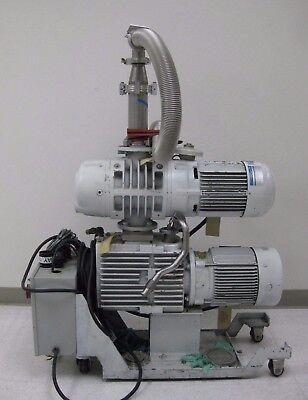 Leybold Ruvac Ws501 Roots Vacuum Pump Blower Motor Used