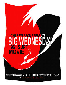 BIG-WEDNESDAY-Retro-Vintage-Surf-movie-Poster-Hawaii-John-Serverson-11-x15