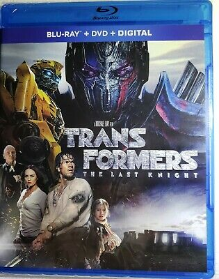 Transformers: The Last Knight-- Brand New (Blu Ray+DVD+Digital w/sleeve, 2017)
