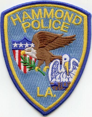 HAMMOND LOUISIANA POLICE PATCH