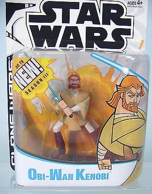OBI-WAN KENOBI Jedi Season 3 ~ Star Wars CLONE WARS ANIMATED Cartoon  2003~ MOC