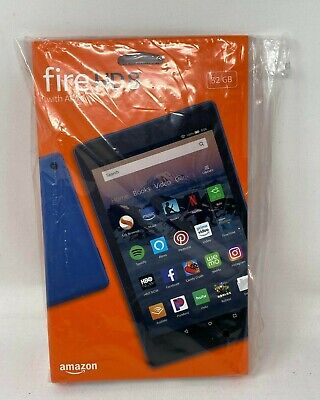 "Amazon Kindle Fire HD 8 Tablet 8"" HD 32 GB Blue"