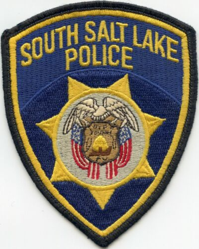 SOUTH SALT LAKE UTAH UT used POLICE PATCH