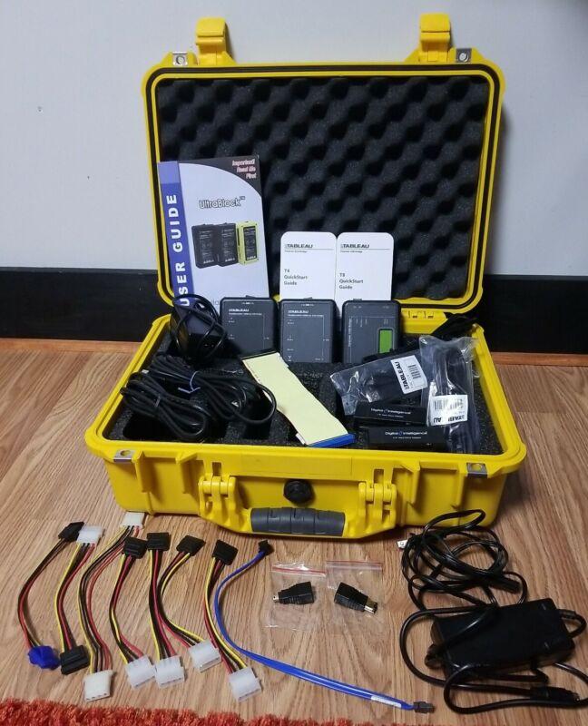 Ultrablock Kit In Case and Accessories T4, T8, IDE Bridge & More