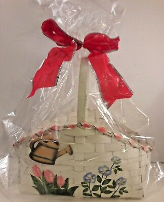 Cellophane Basket Bags (2 Clear LARGE BASKET BAGS 24X30 Cellophane for Gift & Easter Baskets FREE)